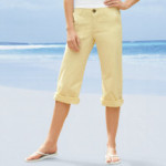 Lee Colorwashed Capris