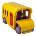 Plan Toys Wooden Activity Bus