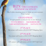 "LOFT's ""My Perfect Summer Getaway"" Sweepstakes"