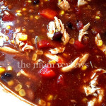 Chicken Taco Soup in the CrockPot Recipe