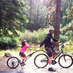 Fall Bike Ride Along the Truckee River and Lake Tahoe