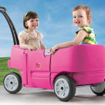 Step2 Wagon for 2 in Pink!