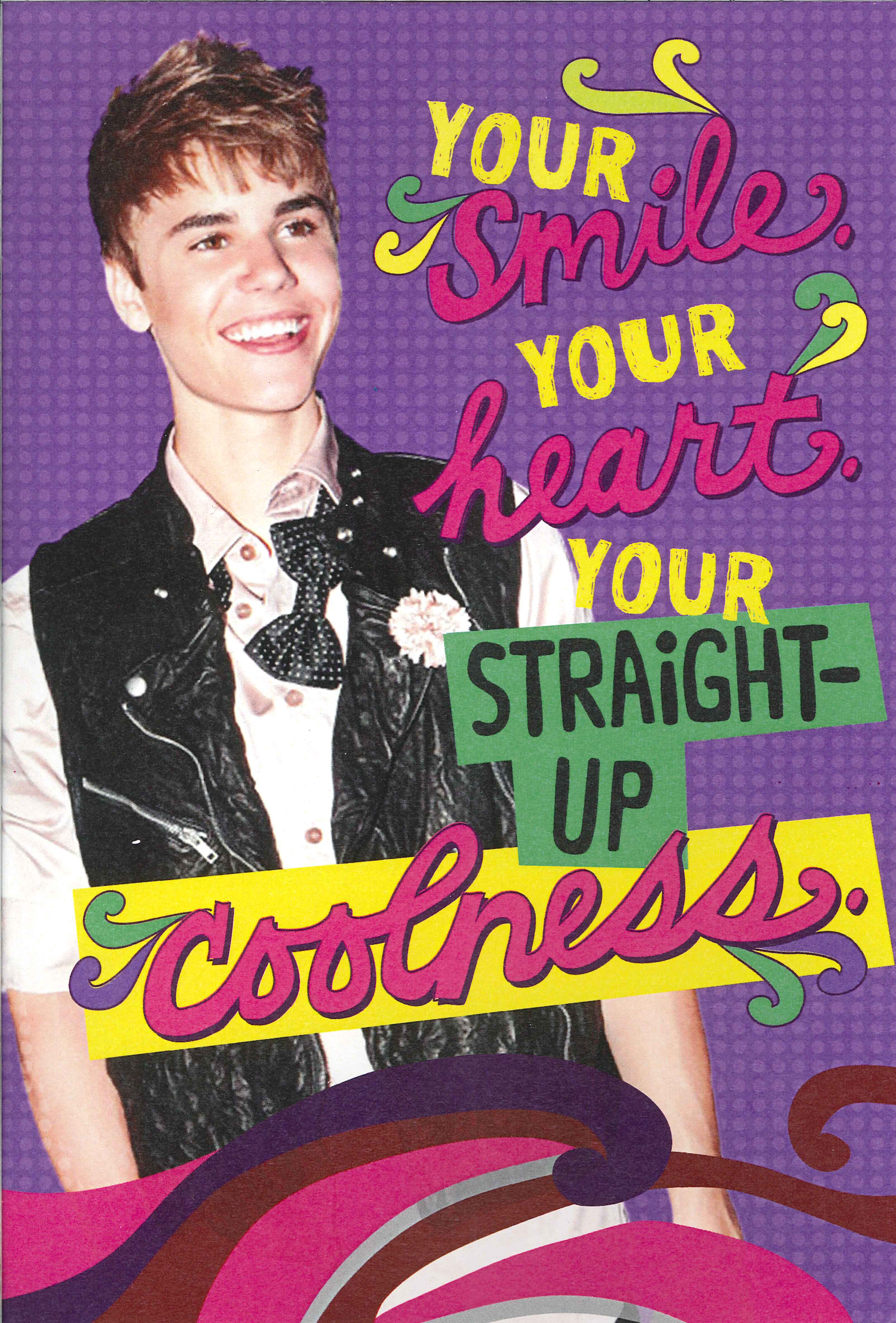 Hallmark fan mail featuring justin bieber jen is on a journey the bookmarktalkfo Choice Image