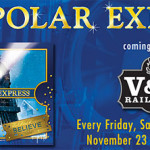 Visit Carson City, NV: Polar Express tickets at V&T Railroad