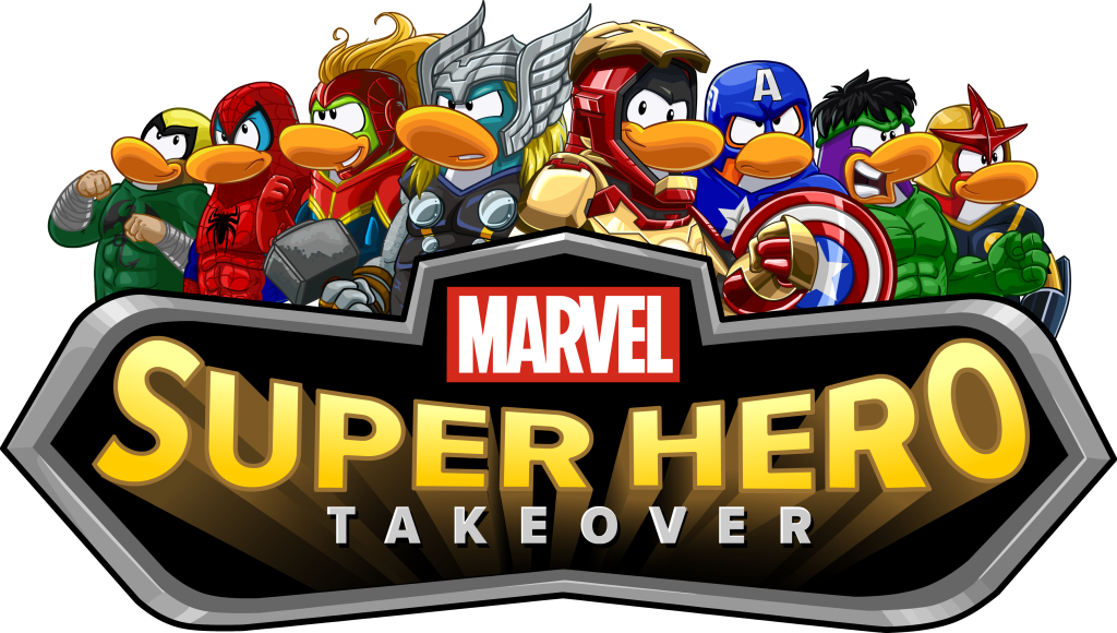 Disney's Club Penguin Epic Event: Members Suit Up as Marvel Super Heroes & Villains