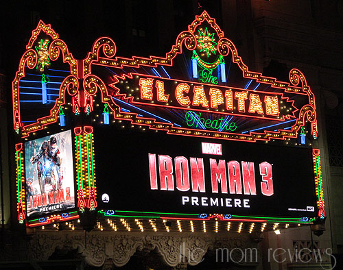 Iconic Hollywood Blvd:  History of The El Capitan Theatre & the Disney Soda Fountain #IronMan3Event