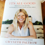 Interviewing Gwyneth Paltrow: On Health and her Cookbook, It's All Good #IronMan3Event