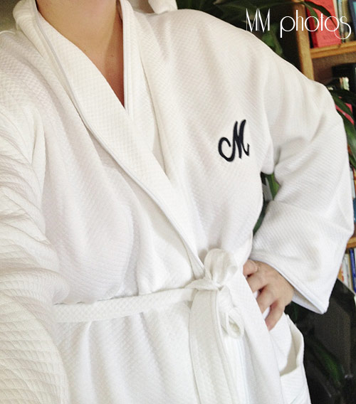 Monogrammed Bathrobes  Slip on a Sigh of Relief!  4cfb82812