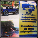 Visit Mono County:  High Sierra Jeep Adventures Tour