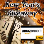 Ring in the New Year with our $200 Amazon Gift Card Giveaway!