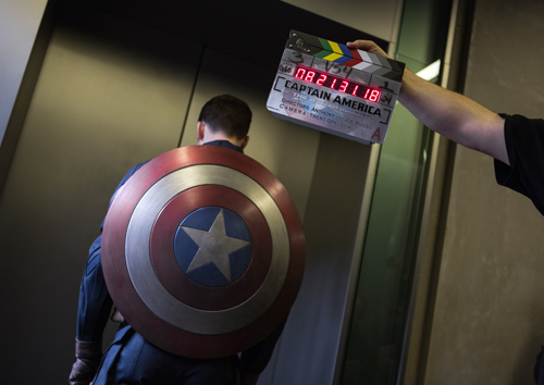 Chris Evans, Captain America Shield