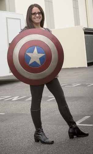 Chris Evans, Captain America Shield, I Held the Captain America Shield