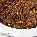 Perfect for the Big Game:  Crockpot Chili