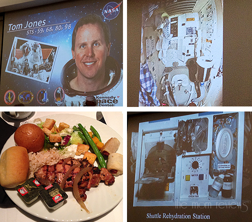 Kennedy Space Center Visitor Complex, Florida Photos, KSC Photos #KennedySpaceCenter, Tom Jones Astronaut, Lunch with an Astronaut