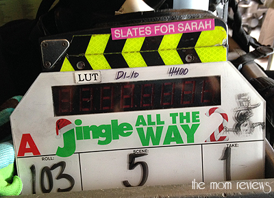 On Set, Movie Set, Vancouver Canada for Jingle All the Way 2 #jinglealltheway2