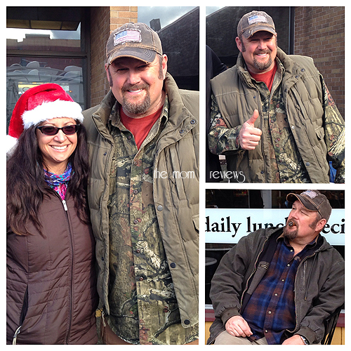 larry the cable guy, On Set, Movie Set, Vancouver Canada for Jingle All the Way 2 #jinglealltheway2, Dan Whitney,