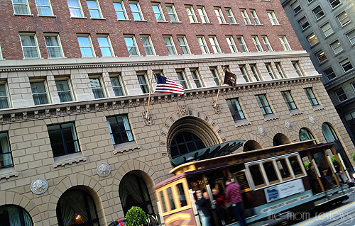 Omni San Francisco Review #SF #Omni #hotels, cable car