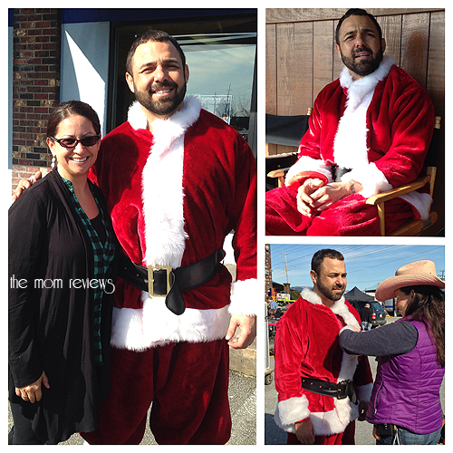 santino marella, On Set, Movie Set, Vancouver Canada for Jingle All the Way 2 #jinglealltheway2, WWE,