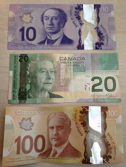canadian money, Post Cards from Vancouver, British Columbia, Canada #canada #photography