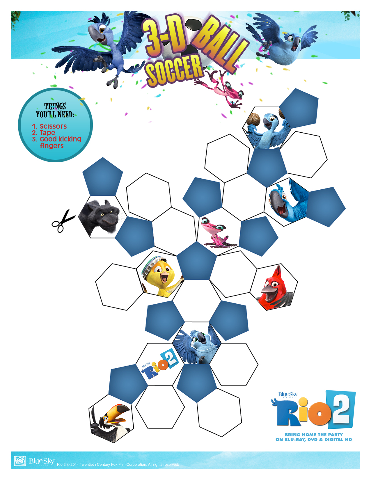 rio 2 twelve fun printable activity sheets u0026 recipes