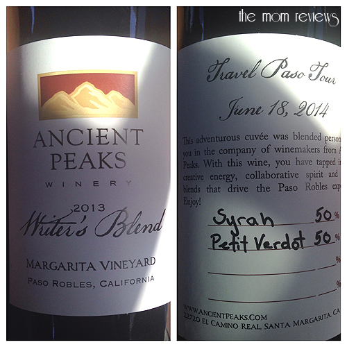 Visit Paso Robles:  Ziplining with Margarita Adventures and Wine Blending at Ancient Peaks
