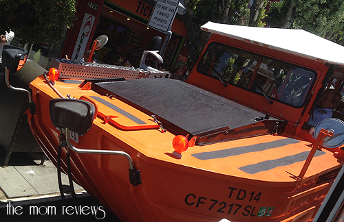 New Addition to the Ride the Ducks Fleet Shows San Francisco Giants Colors!