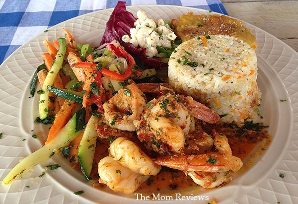 My Favorite Aruba Snapshots, Caribbean Jerk Shrimp