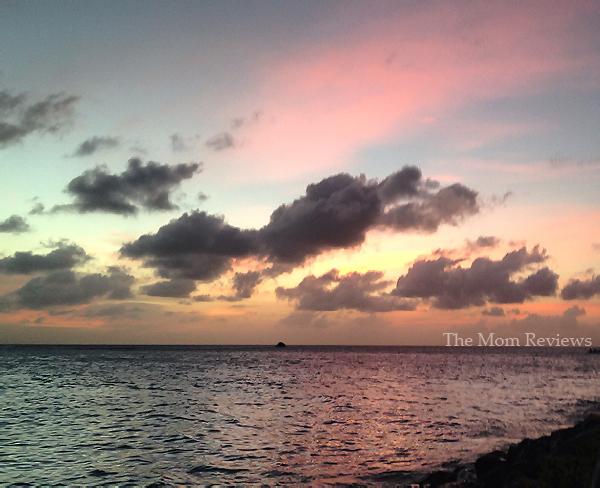 My Favorite Aruba Snapshots, Cotton Candy Sunset