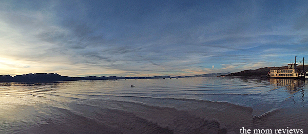 Travel Photography:  Autumn Sunset in Lake Tahoe