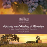 Masters and Makers @ Meritage: The Ultimate Napa Valley Food and Wine Experience, February 13-15, 2015
