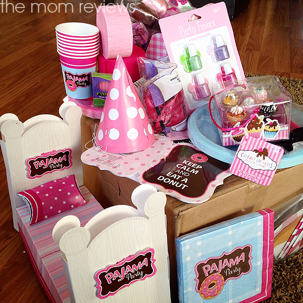 Birthday Express Pajama Party Supplies