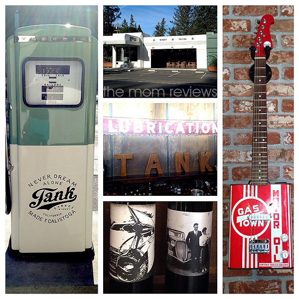 Tank Garage, Calistoga