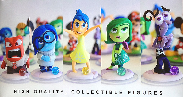 Disney Infinity 3.0 Inside Out Play Sets #InsideOutEvent #InsideOut #DisneyInfinity