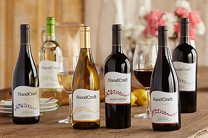 HandCraft by Cheryl Indelicato Wines:  Pinot Grigio and Malbec
