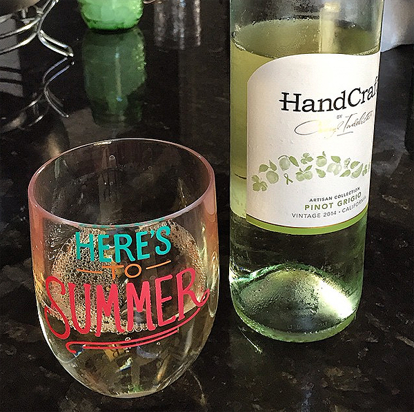 HandCraft by Cheryl Indelicato Wines:  Pinot Grigio and Malbec
