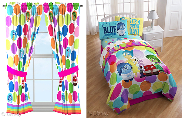 Inside Out Bedroom Decor #InsideOutEvent #InsideOut