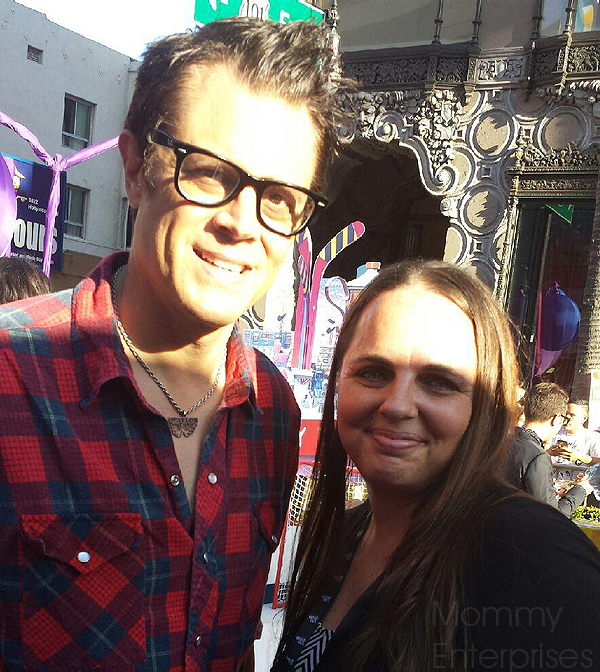 Johnny Knoxville Inside Out Premiere #InsideOutEvent