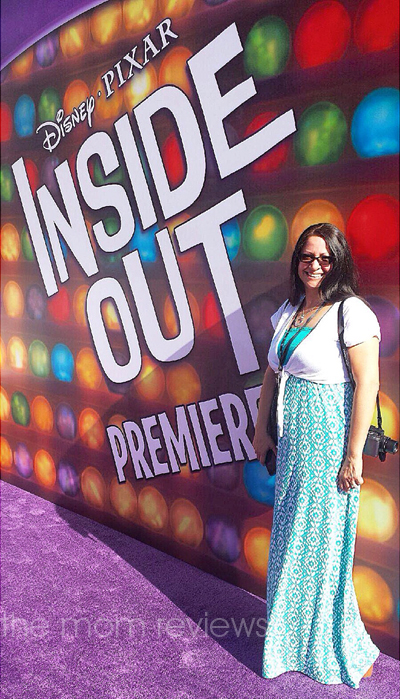 Starstruck on the PURPLE Carpet for the Inside Out Premiere #InsideOutEvent