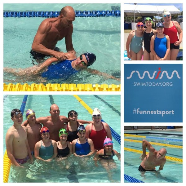 Swimming with Olympic Gold Medalist Rowdy Gaines #FunnestSport