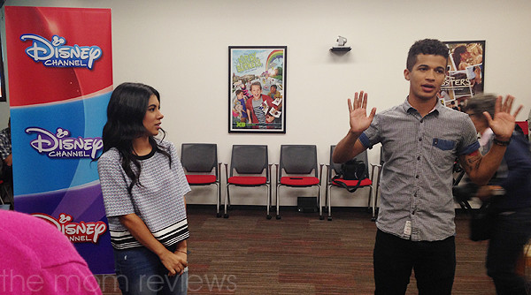 Dancing with Chrissie Fit and Jordan Fisher from Teen Beach 2 #TeenBeach2Event