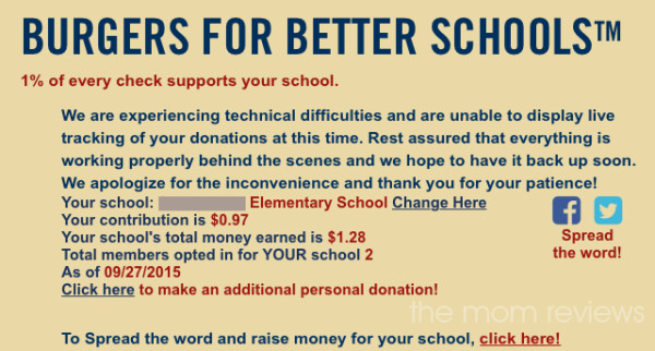 Red Robin: Burgers for Better Schools Program