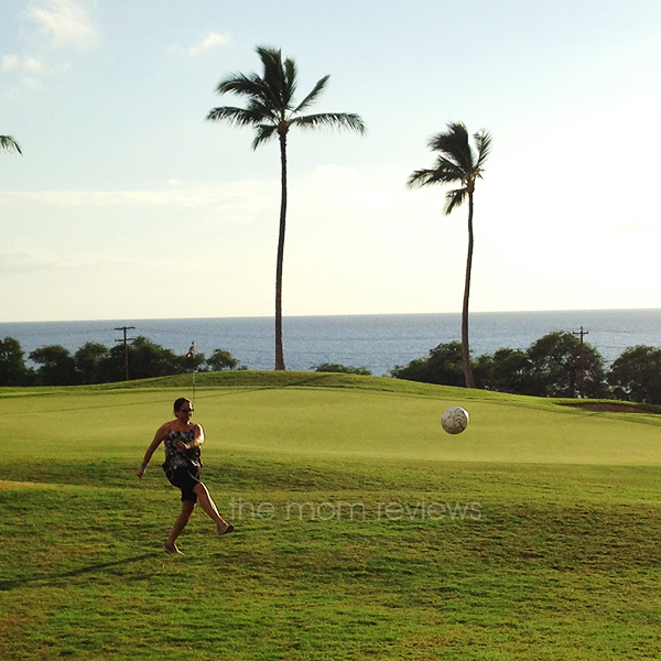 Kicking It with a Game of FootGolf at Kaanapali Golf Course in Maui