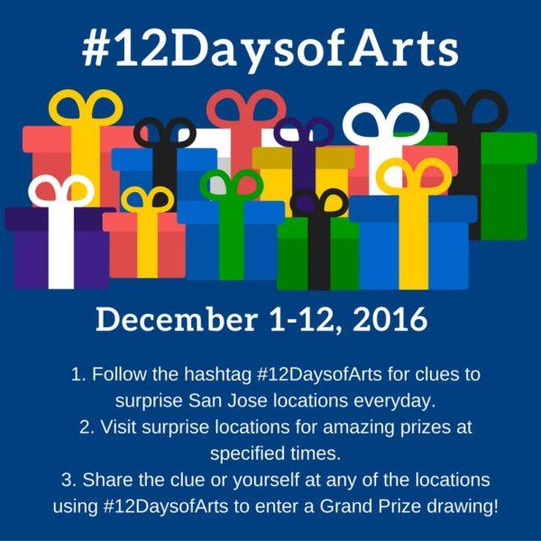 #12daysarts