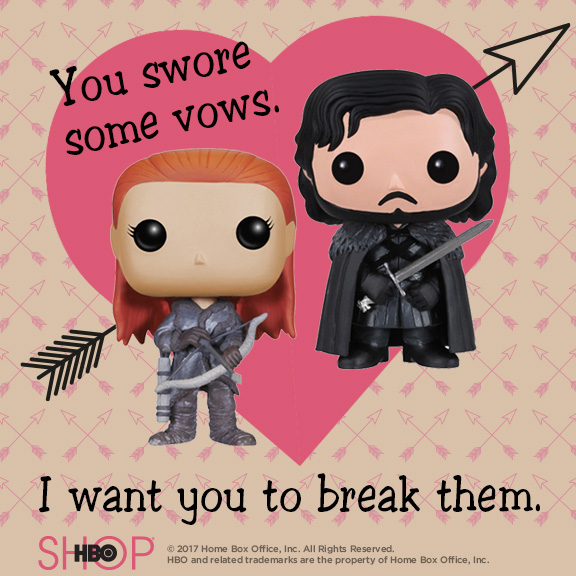 Game of Thrones Printable Valentines Day Cards  Jen is on a Journey