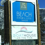 Winter Wonderland at The Beach Retreat and Lodge, Lake Tahoe