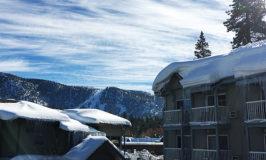 Winter Wonderland at The Beach Retreat and Lodge, Lake Tahoe