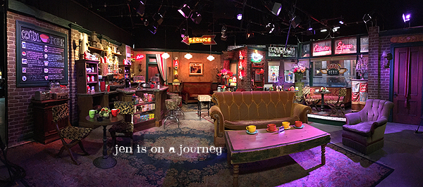 Central Perk Warner Bros. Studio Tour