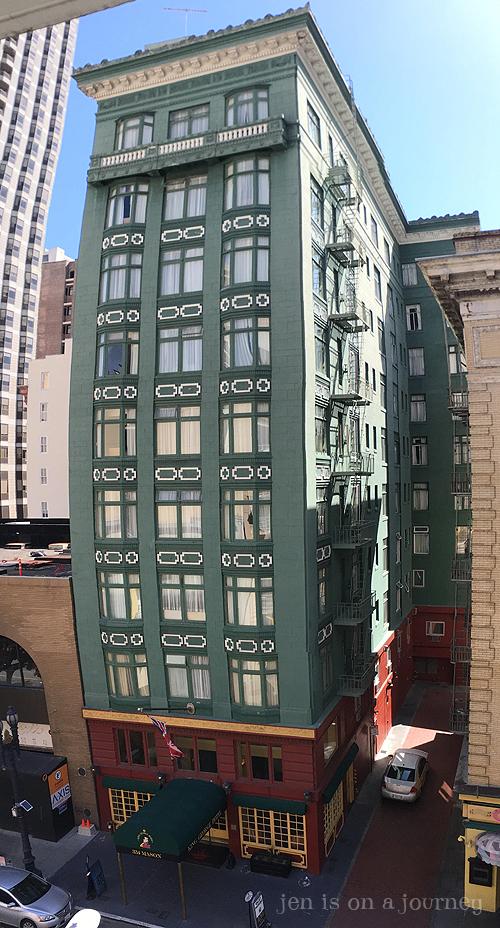 King George Hotel, San Francisco