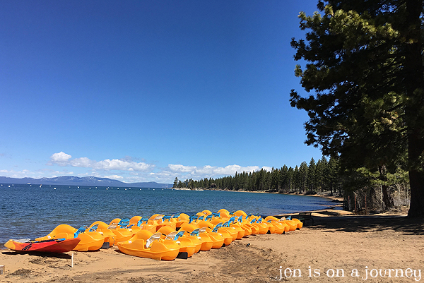 Kayaking in Zephyr Cove, South Lake Tahoe