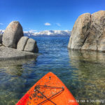 Kayaking Zephyr Cove, South Lake Tahoe
